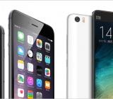So sánh Xiaomi Mi Note Pro và iPhone 6 Plus