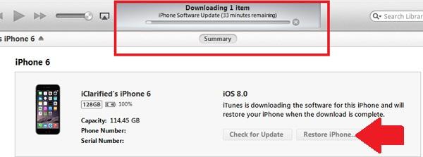 iPhone 6 bị vộ hiệu hóa