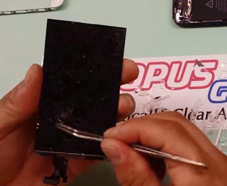 cách thay mặt kính iPhone