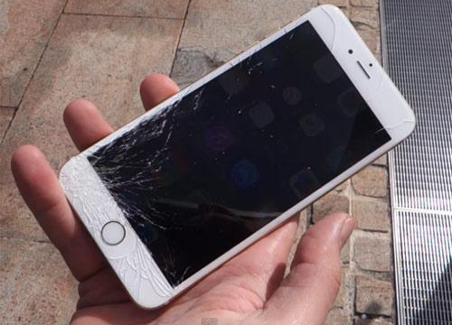 chất liệu mặt kính iPhone 6 làm bằng gì