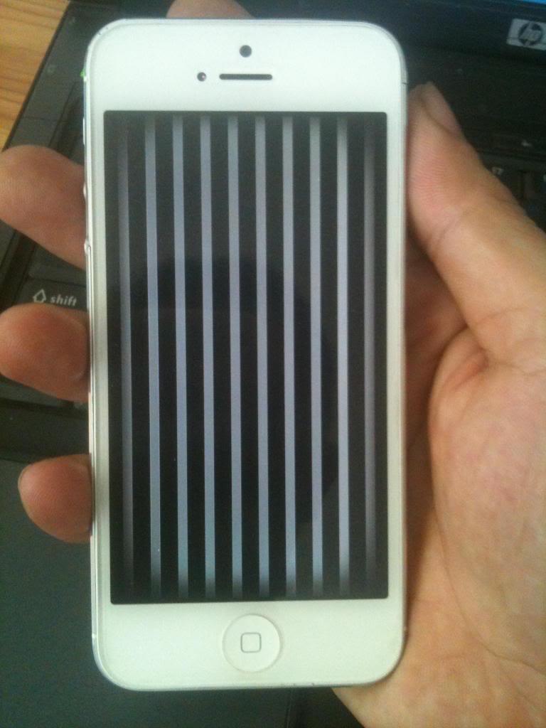 lỗi trên mặt kính iPhone