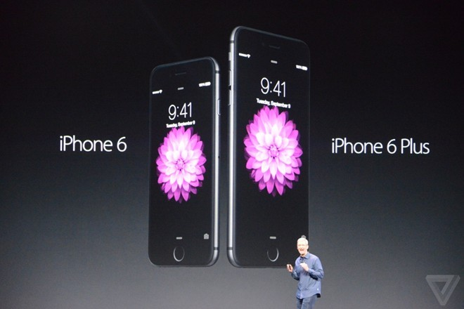 độ bền mặt kính iPhone