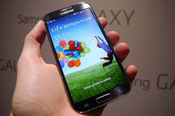 Lỗi về màn hình Galaxy S5
